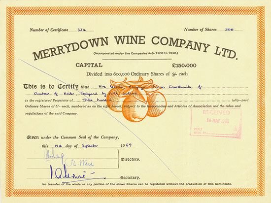Merrydown Wine Company Limited