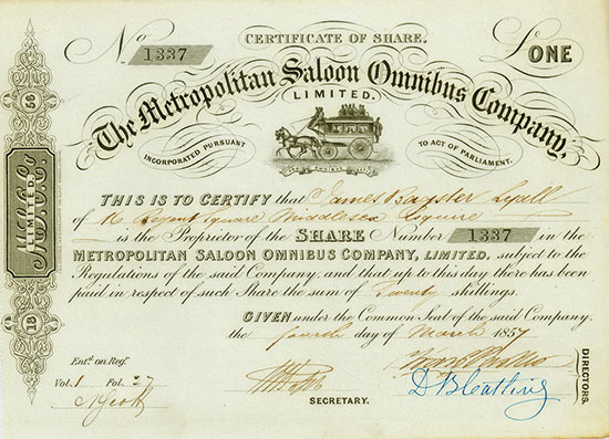 Metropolitan Saloon Omnibus Company, Limited