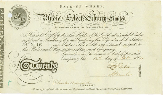 Mudies Select Library Limited