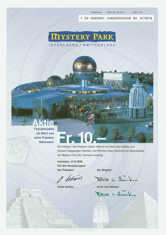 Mystery Park