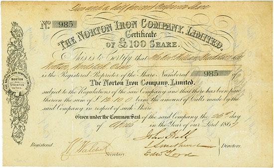 Norton Iron Company, Limited