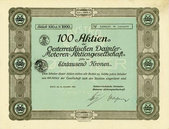Oesterreichische Daimler-Motoren-AG