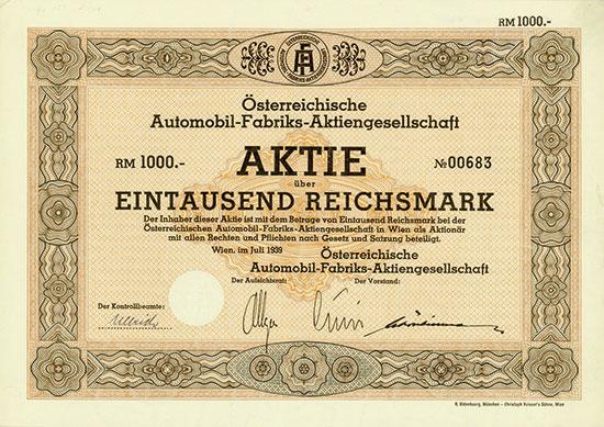 Österreichische Automobil-Fabriks-AG