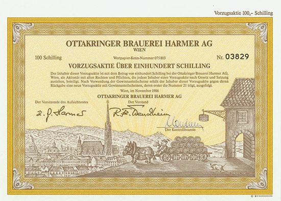 Ottakringer Brauerei Harmer AG