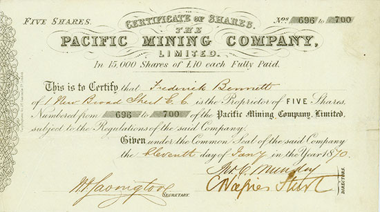 Pacific Mining Company, Limited