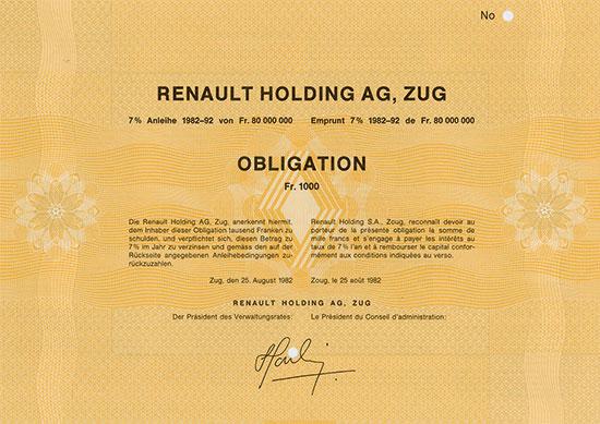 Renault Holding AG