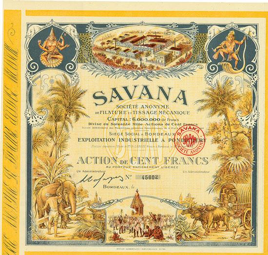 Savana Société Anonyme de Filature et Tissage Mécanique
