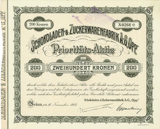 Schokoladen- & Zuckerwarenfabrik A.-G.