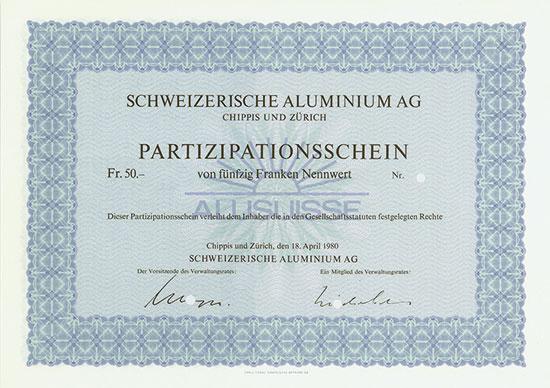 Schweizerische Aluminium AG