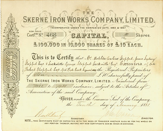 Skerne Iron Works Company, Limited