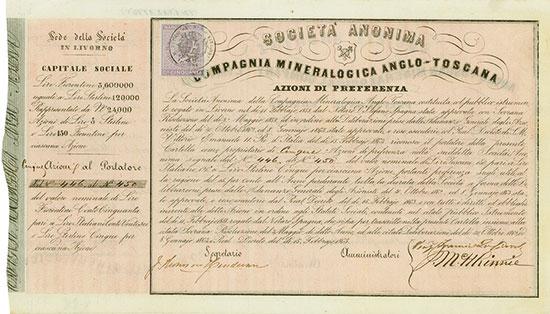 Societa Anonima Compagnia Mineralogica Anglo-Toscana