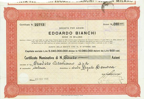 Societa per Azioni Edoardo Bianchi