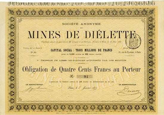 Société Anonyme des Mines de Diélette