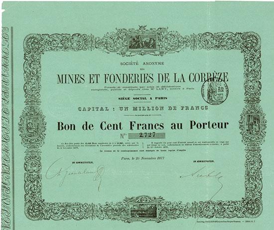 Société Anonyme des Mines et Fonderies de la Corrèze