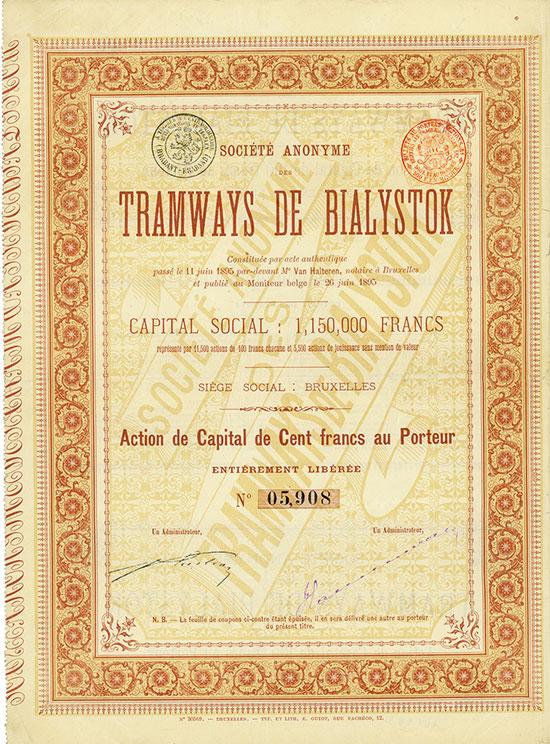 Société Anonyme des Tramways de Bialystok