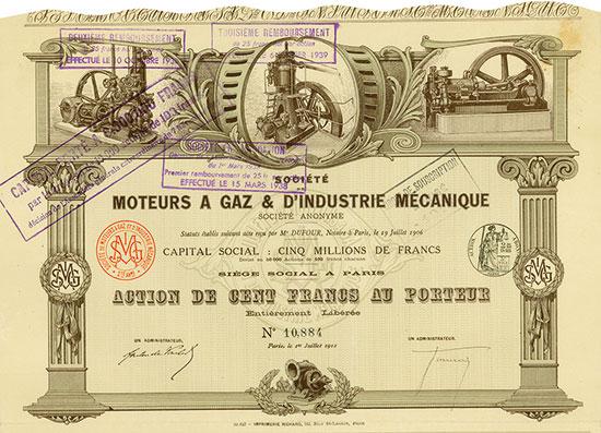 Société de Moteurs a Gaz & d'Industrie Mecanique