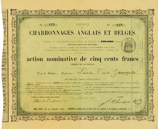Société des Charbonnages Anglais et Belges