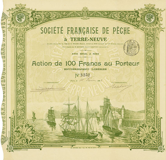 Société Francaise de Pêche à Terre-Neuve