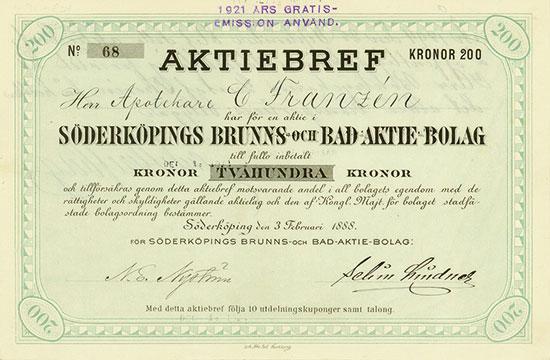 Söderköpings Brunns-och Bad-Aktie-Bolag