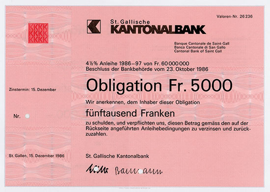 St. Gallische Kantonalbank