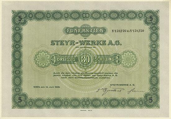 Steyr-Werke A.G.