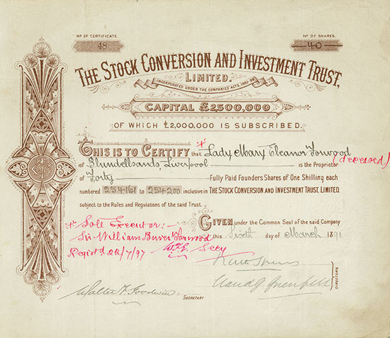 Stock Conversion and Investment Trust, Limited