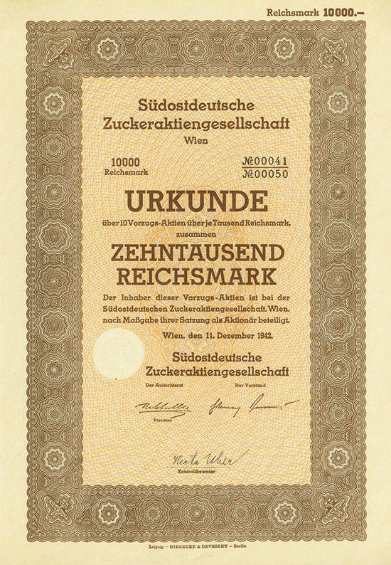 Südostdeutsche Zuckeraktiengesellschaft