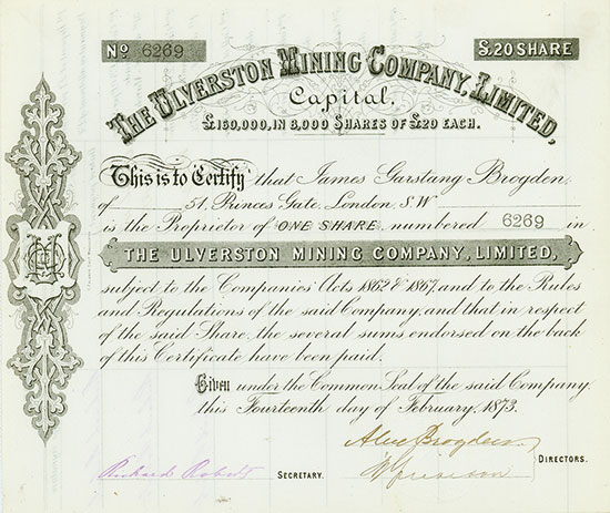 Ulverston Mining Company, Limited