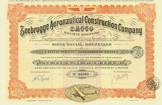 Zeebrugge Aeronautical Construction Company