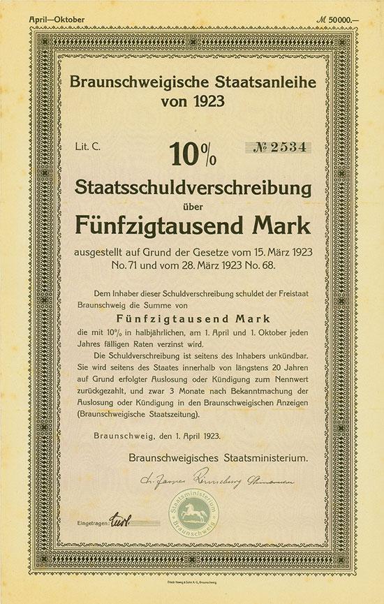 Braunschweigisches Staatsministerium