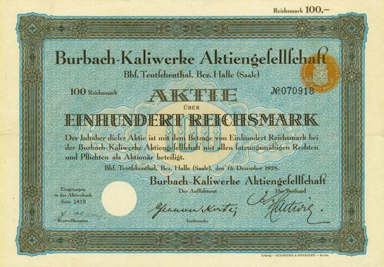 Burbach-Kaliwerke AG