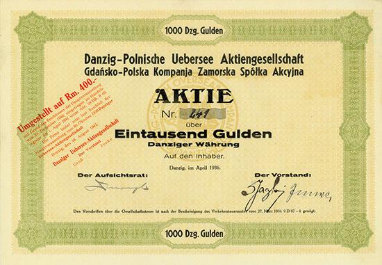 Danzig-Polnische Uebersee AG (Gdañsko-Polska Kompanja Zamorska Spólka Akcyjna)