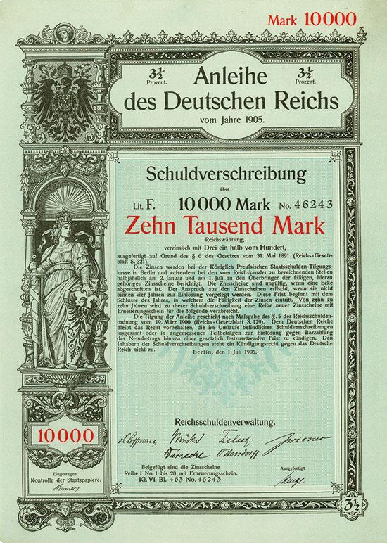 Deutsches Reich [3 Stück]