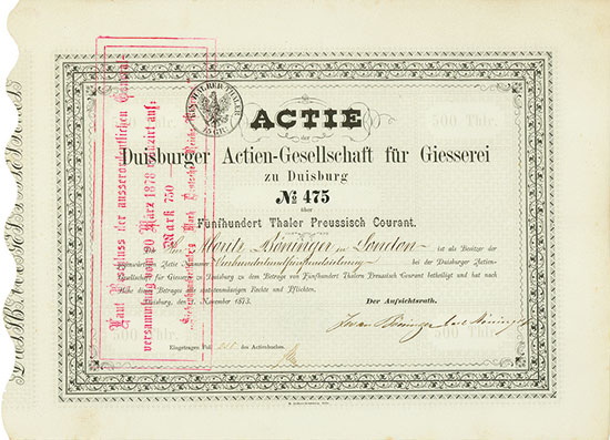 Duisburger Actien-Gesellschaft für Giesserei