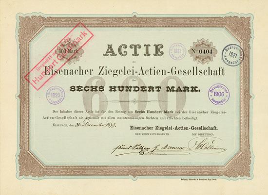 Eisenacher Ziegelei-AG