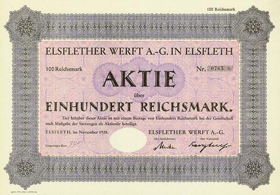 Elsflether Werft AG