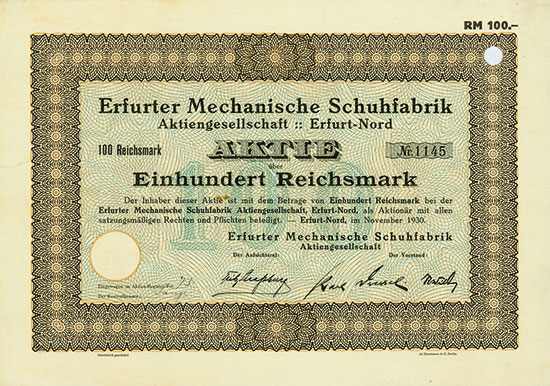 Erfurter Mechanische Schuhfabrik AG