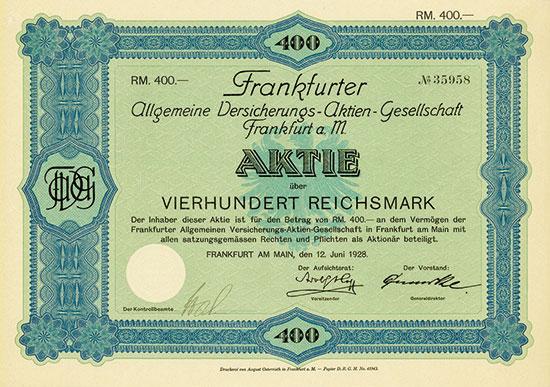 Frankfurter Allgemeine Versicherungs-AG