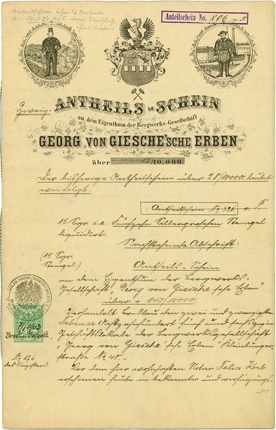 Georg von Giesche'sche Erben
