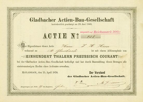 Gladbacher Actien-Bau-Gesellschaft