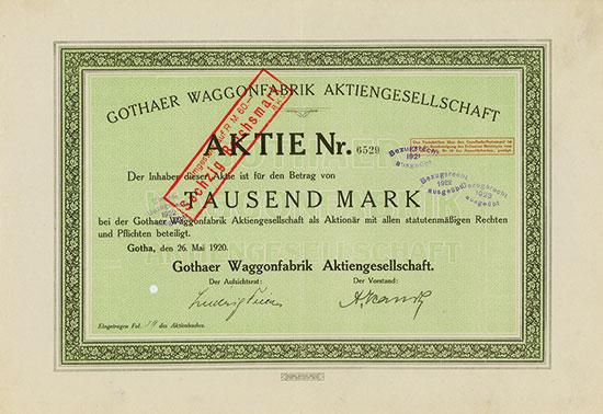 Gothaer Waggonfabrik AG