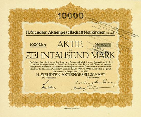 H. Steudten AG