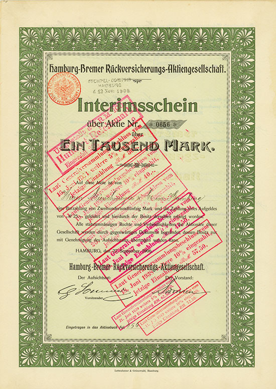 Hamburg-Bremer Rückversicherungs-AG