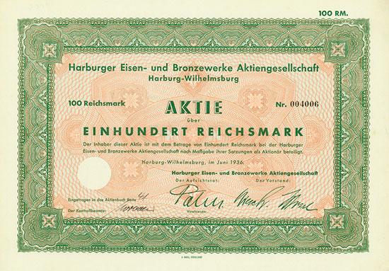 Harburger Eisen- und Bronzewerke AG