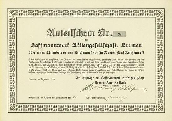 Hoffmannwerk AG