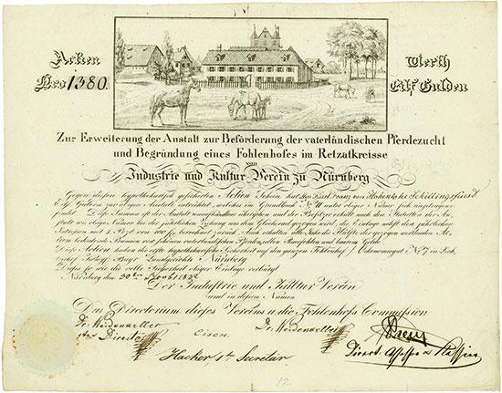 Industrie- und Kultur-Verein zu Nürnberg (Fohlenhof)