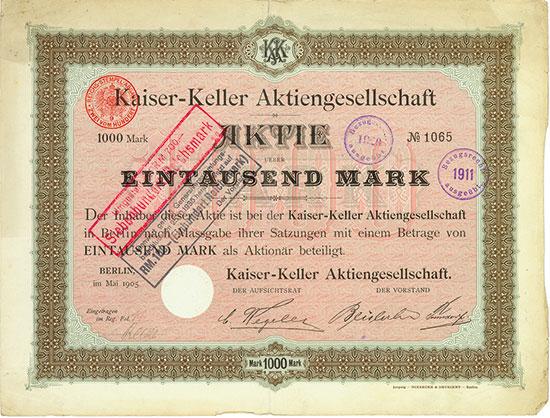 Kaiser-Keller AG
