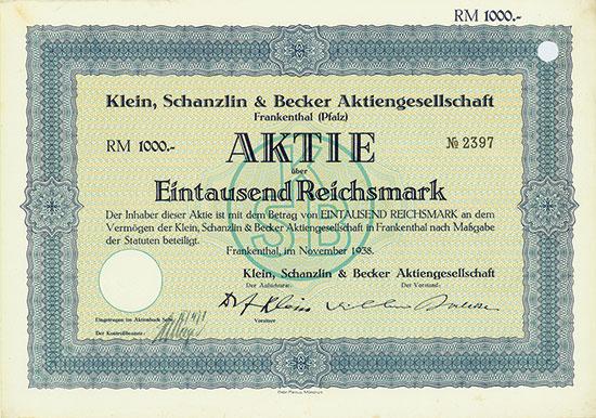 Klein, Schanzlin & Becker AG