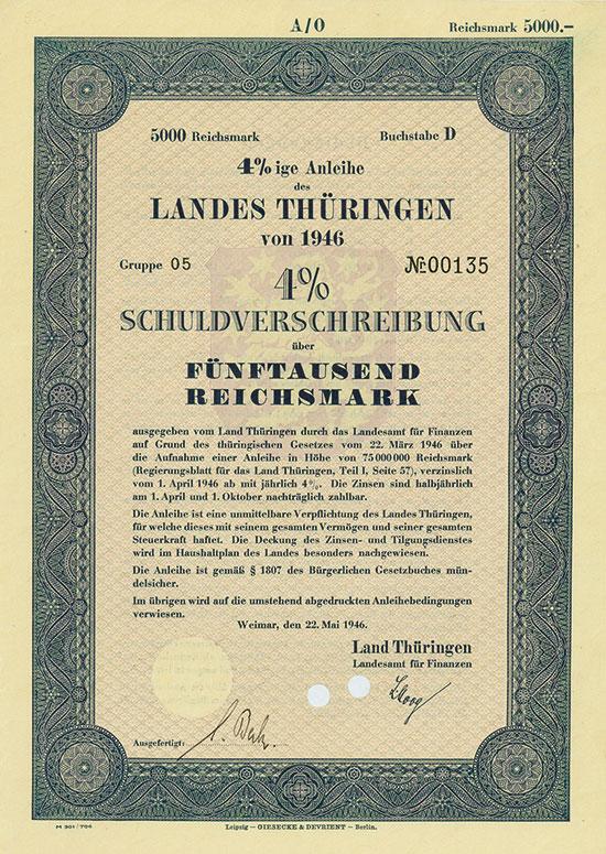 Land Thüringen [2 Stück]