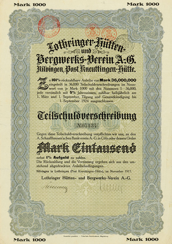 Lothringer Hütten- und Bergwerks-Verein AG